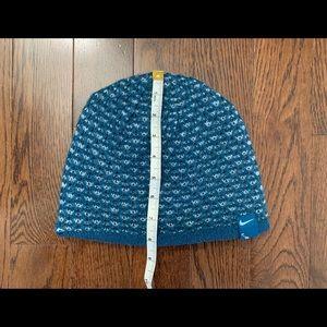 Nike Accessories - Nike Reversible Teal/Aqua Green Beanie